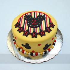 Mickey's Birthday Wishes Cake