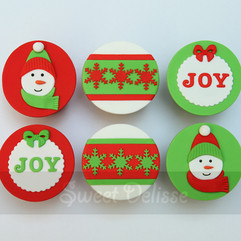 Jolly Season Cupcakes