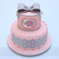 Adorable Elephant Cake