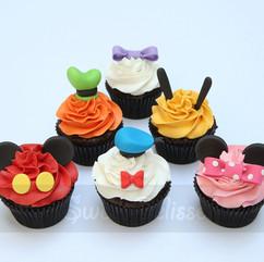 Mickey & Company Cupcakes
