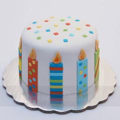 Birthday Candles Cake