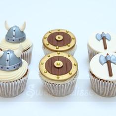 Viking Cupcakes
