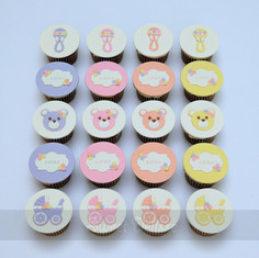 Color My World Cupcakes