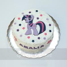 Twilight Sparkle Cake