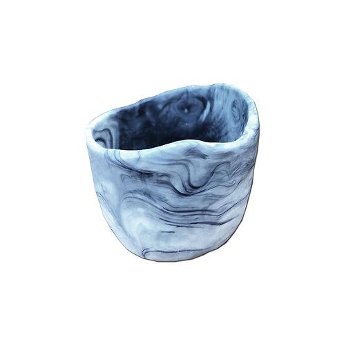 Resin Cup - Dark Marble