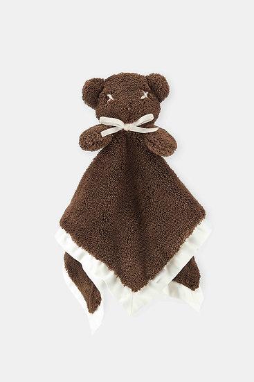 扁扁熊安撫巾/醇咖啡