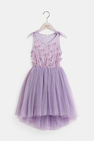 Britt芭蕾洋裝-蝶舞/紫羅蘭