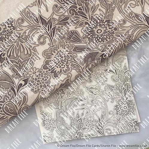 Floribunda Tote Bag and matching Gallery Style Greetings Card Set