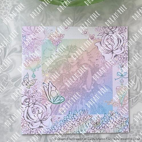 Fairy Godmother - digitally printed fairy design blank greetings card