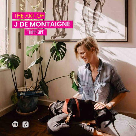The art of J de Montaigne Merc'art - podcast