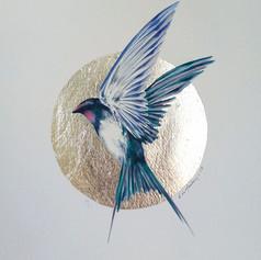 Silver ornithology addict #9