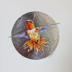 Silver ornithology addict #6