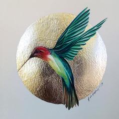 Silver ornithology addict #2
