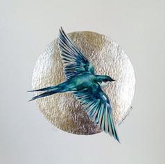 Silver ornithology addict #8