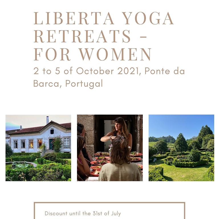 LIBERTA Yoga Retreats, for Women