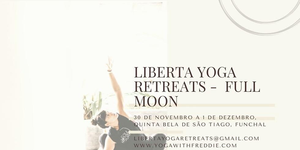 LIBERTA YOGA RETREATS - Full Moon Retreat