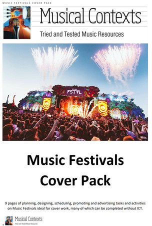 The Musical Contexts Music Festivals Cover Pack