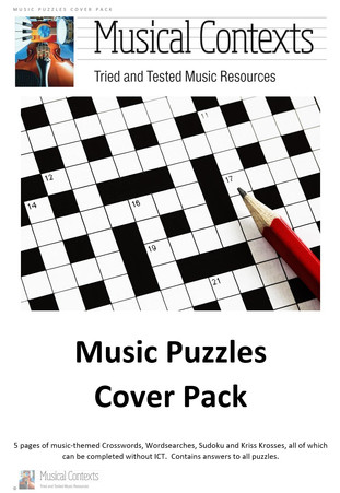 The Musical Contexts Music Puzzles Cover Pack