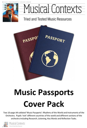 The Musical Contexts Music Passports Cover Pack