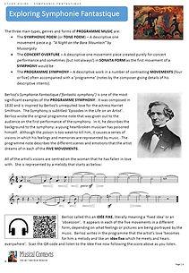 Symphonie Fantastique Berlioz