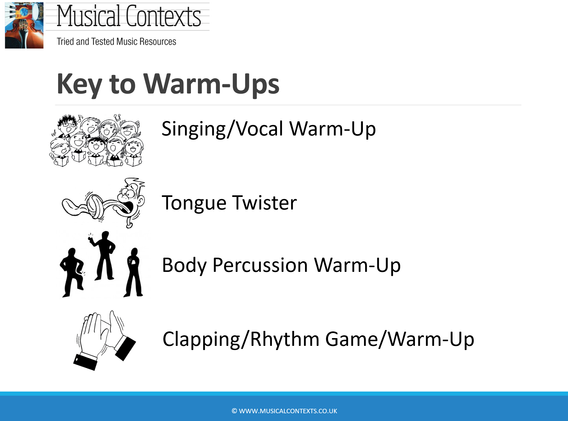 The Musical Contexts Complete Warm Ups Compendium Volume 1