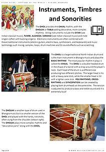 Eduqas GCSE Music Popular Music Bhangra