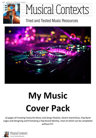 The Musical Contexts My Music Cover Pack