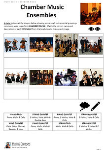 Eduqas GCSE Music Area of Study 2 Music for Ensemble Chamber Music