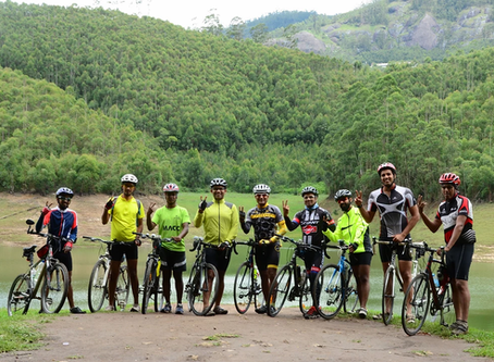 Monsoon ride amidst apple orchards & tea gardens of Kerala
