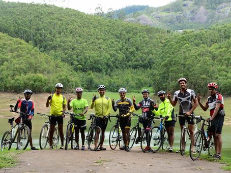 Monsoon ride amidst apple orchards & tea gardens of Kerala