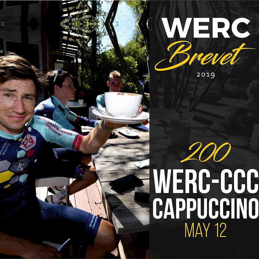 WERC Brevets / Cappuccino 200km