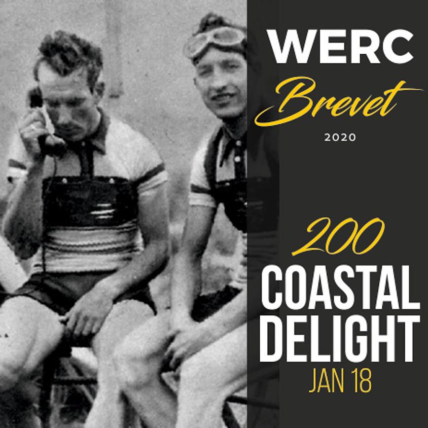 WERC Brevets / Coastal Delight 200km