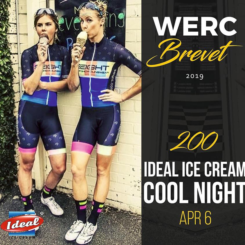 WERC Brevets / Ideal Ice Cream Cool Night 200km