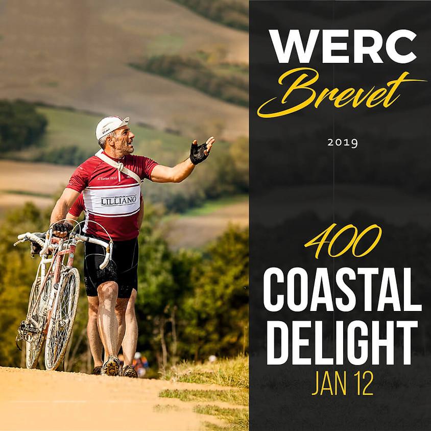 WERC Brevets / Coastal Delight 400km