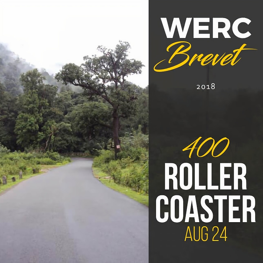 WERC Brevets / Roller Coaster 400km