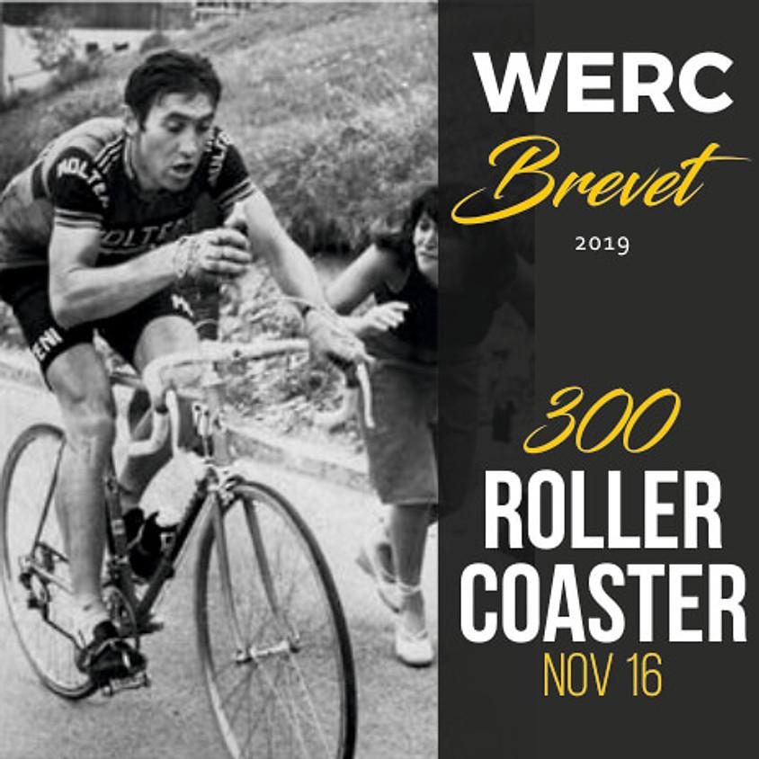 WERC Brevets / Roller Coaster 300km