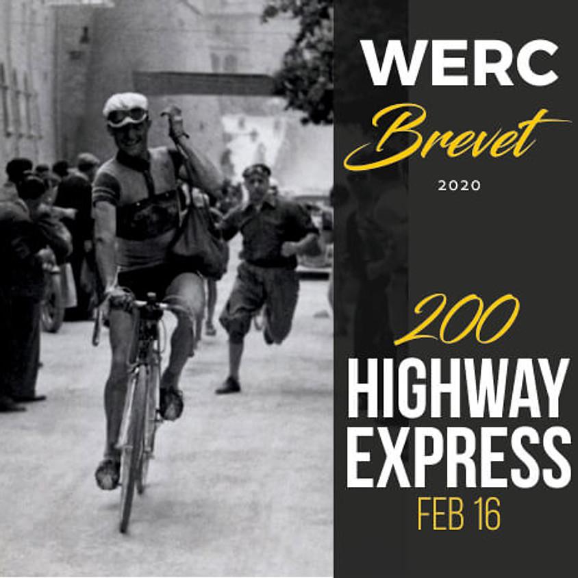 WERC Brevets / Highway Express 200km