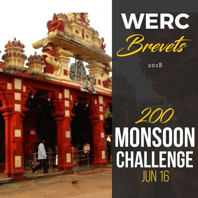WERC Brevets / Monsoon Challenge 200km