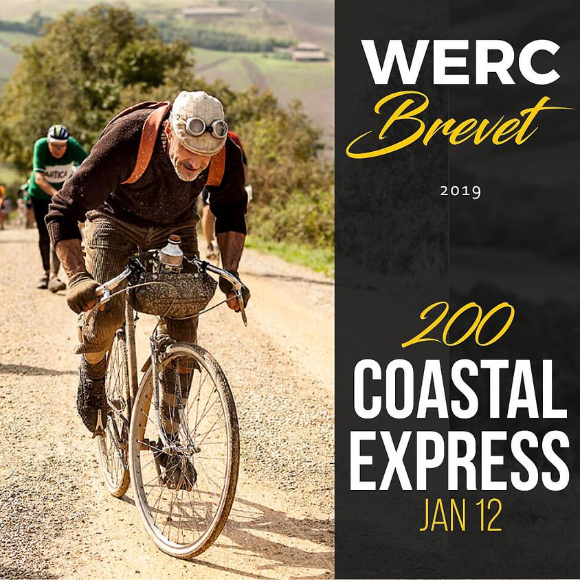 WERC Brevets / Coastal Express 200km