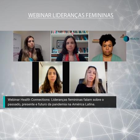 Webinar Lideranças Femininas