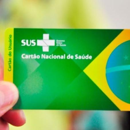 Vacinação Covid-19: saiba como emitir o Cartão SUS pela internet