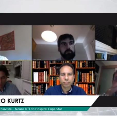 Médicos debatem os aprendizados sobre o manejo da Covid-19 em UTI; confira