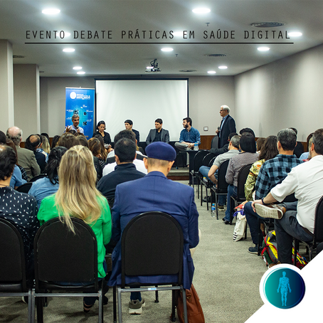 Evento debate Telemedicina e Práticas de Saúde Digital