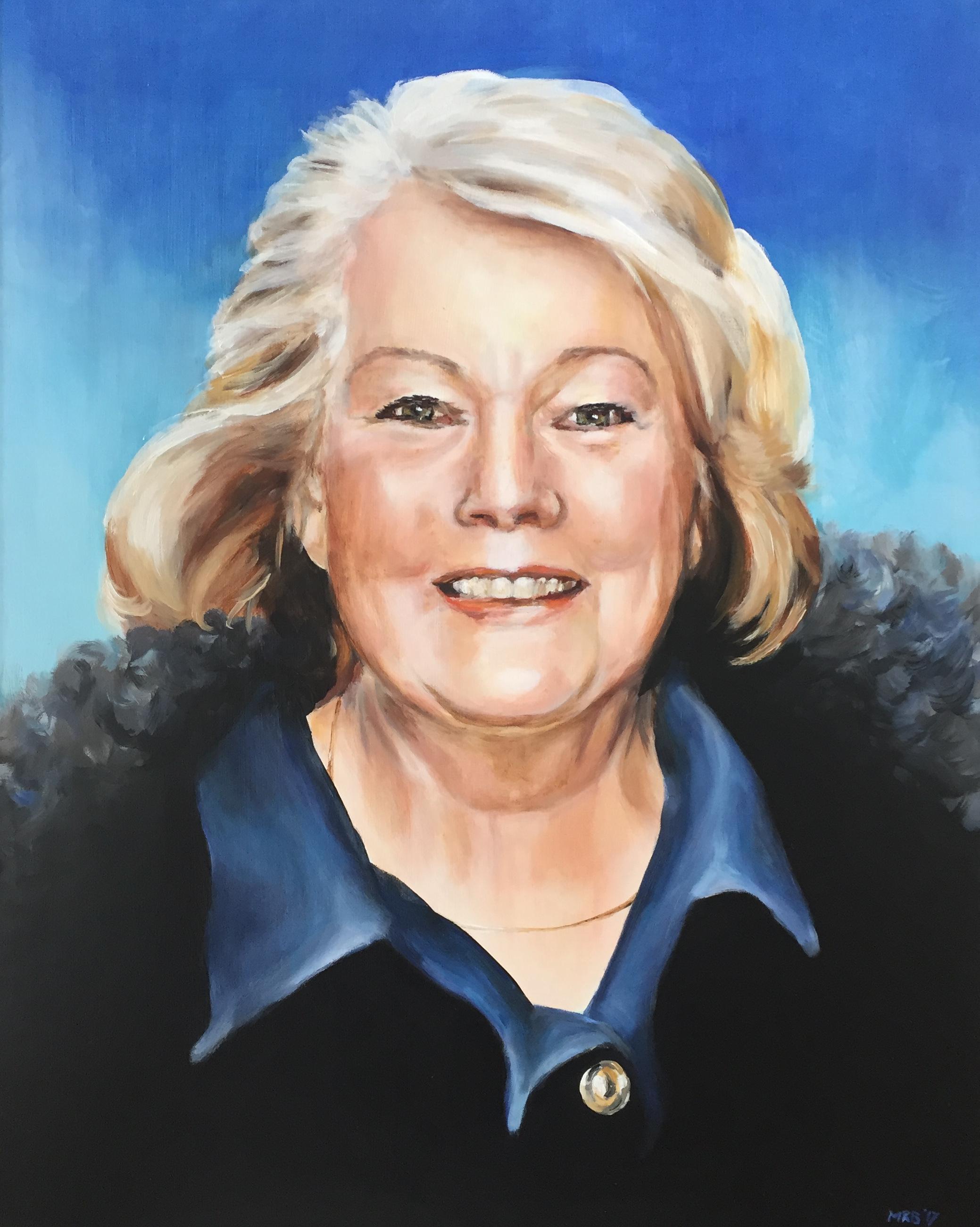 In memoriam portret