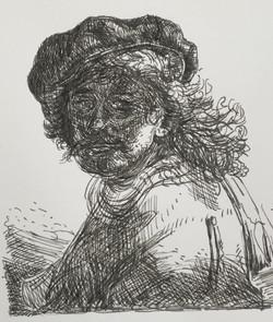 Rembrandt studie