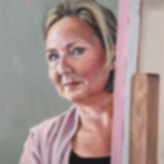 Melinda zelfportret