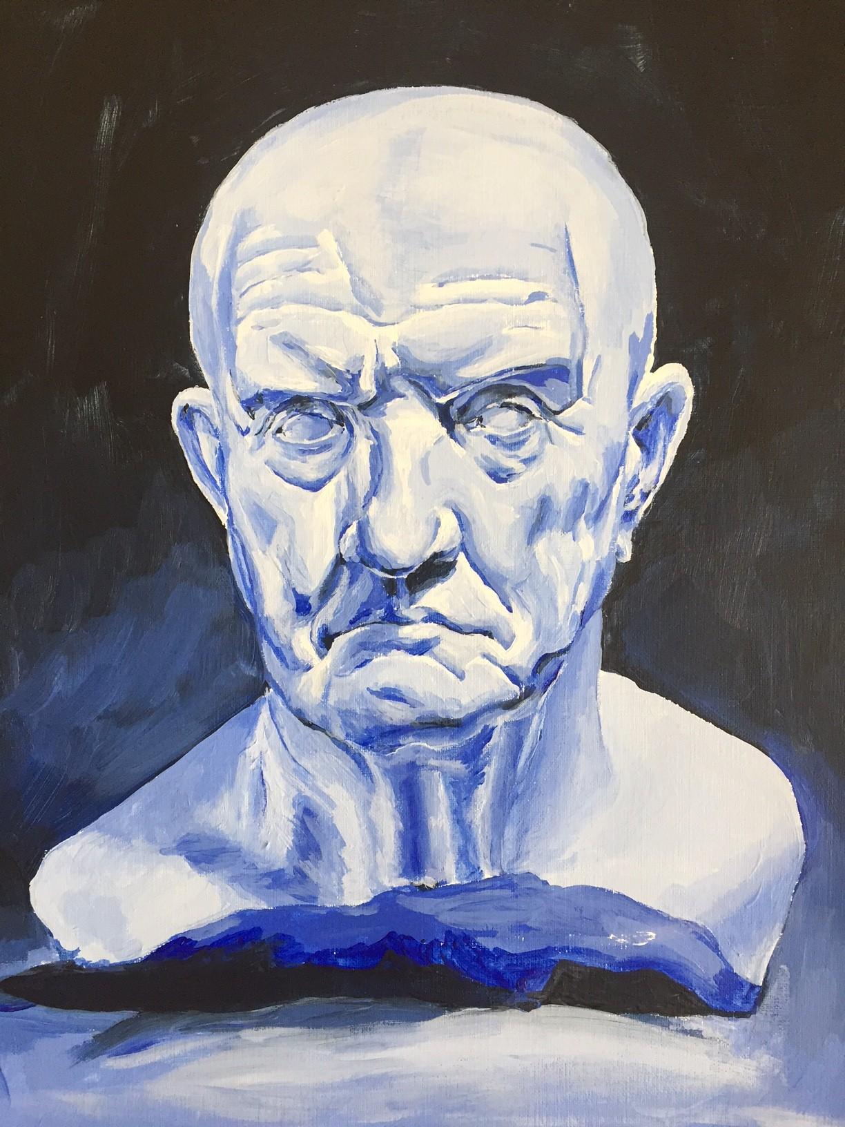 Studie in blauw
