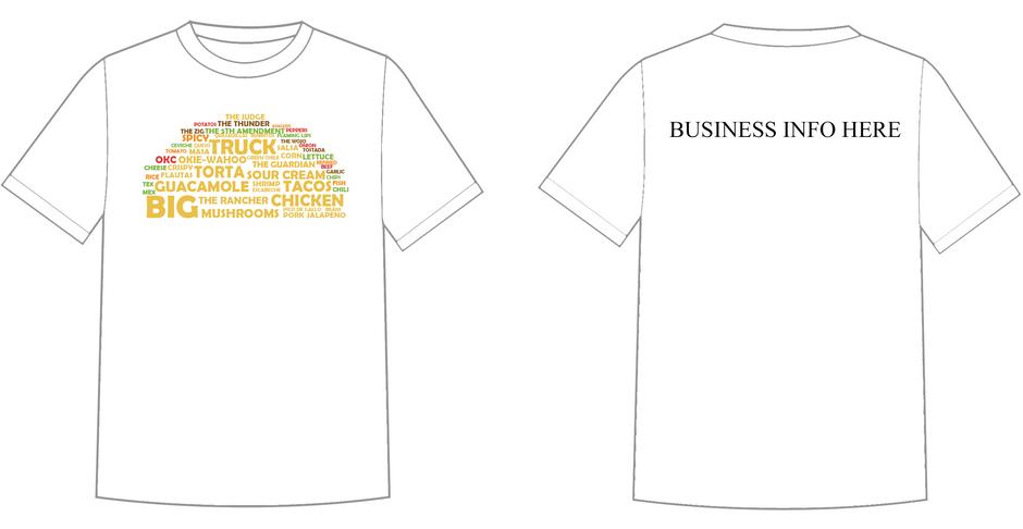 Big Truck Tacos T-Shirt