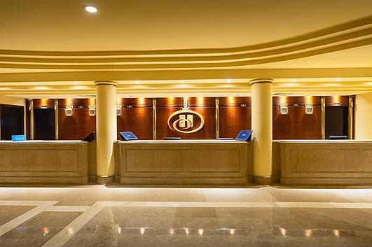 Recetion at Hilton Hurghada