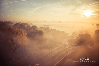 Amsterdam Foggy Morning